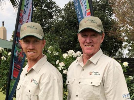 DairySmid Hoof Trimmnig Owners Riaan and Gert van Zyl